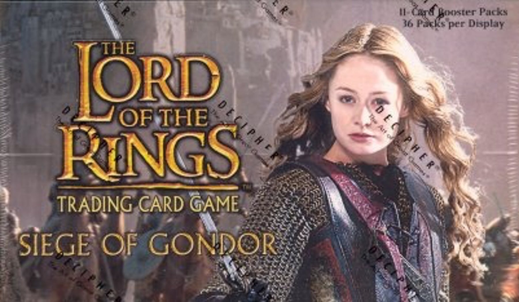 Lord of the Rings TCG Siege of Gondor Booster Box Decipher