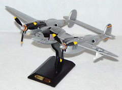 P38J LIGHTNING Wood Model Plane Protectors Of Freedom Collection By Heritage Mint