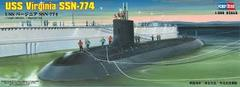 USS Virginia SSN-774 Submarine By Hobby Boss