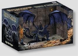 Pathfinder Battles Huge Black Dragon (Heroes & Monsters