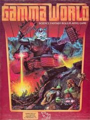 Gamma World Science Ficton Role-Playing Game Box Set TSR 7010