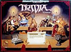 AD&D Trivia Game 2E Vintage TSR RPG