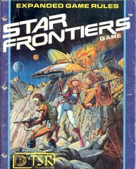 Star Frontier Science Fiction RPG Vintage TSR #7007