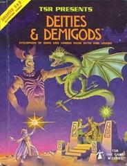 AD&D Deities & Demigods TSR 3rd Printing HC 2013