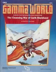 Gamma World Adventure: Cleansing War of Garik Blackhand GW3 #7504