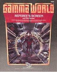 Gamma World RPG Referee's Screen & Mini Module 6502