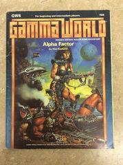 Gamma World Adventure: Alpha Factor GW6 #7509