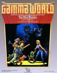 Gamma World Adventure: The Mind Masters GW4 #7505