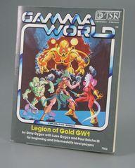 Gamma World Adventure: Legion of Gold by Gary Gygax GW1 #7503