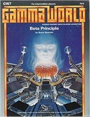 Gamma World Adventure: Beta Principle GW7 #7510