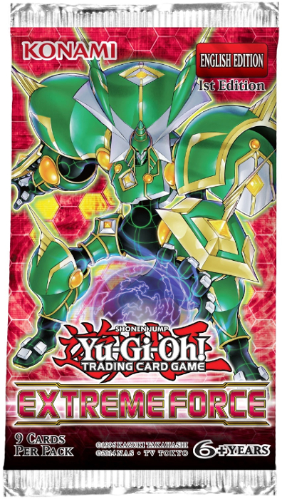 Yu-Gi-Oh! - Extreme Force Booster Pack