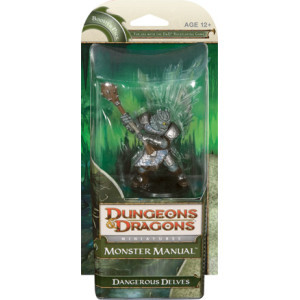 D&D Miniatures Monster Manual: Dangerous Delves Booster Pack