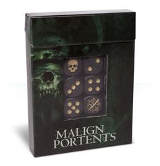 Age of Sigmar - Malign Portents Dice