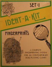 Mercenaries, Spies & Private Eyes Ident-a-Kit Fingerprints Box Set 1 RPG