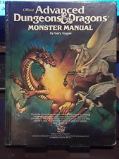 AD&D - Monster Manual - (1986 Cover) HC 2009