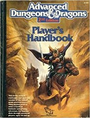 AD&D 2E Player's Handbook HC TSR 2101