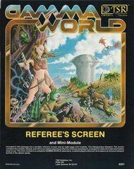 Gamma World Referee's Screen TSR  6501