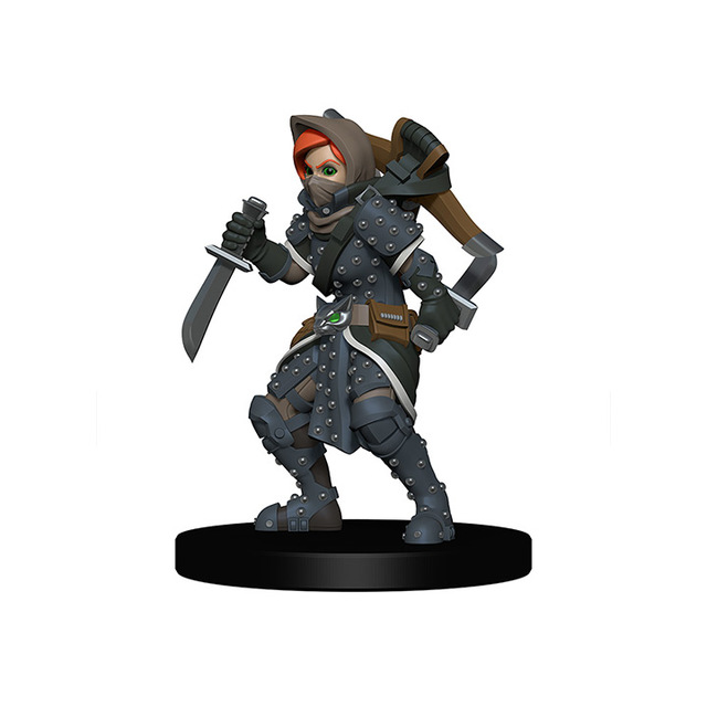 Wardlings Girl Rogue With Badger Miniatures Dd Minis The