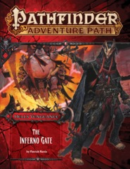 Pathfinder Adventure Path #105: The Inferno Gate (Hell's Vengance 3 of 6)