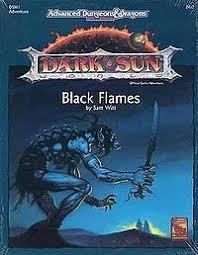AD&D 2E Dark Sun Black Flames Box 2417