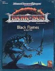 AD&D 2E Dark Sun Black Flames Box 2417