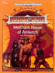 AD&D 2E Dark Sun Merchant House of Amketch Box 2421