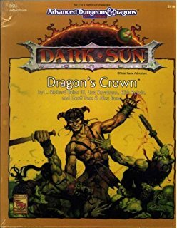 AD&D 2E Dark Sun Dragon's Crown Box 2416