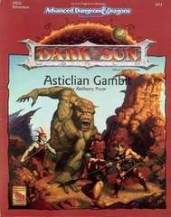 AD&D 2E Dark Sun Asticlian Gambit Box 2412