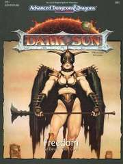 AD&D 2E Dark Sun Freedom Box 2401
