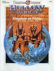 D&D Hollow World HWR2 Kingdom of Nithia 9339