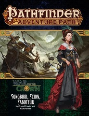 Pathfinder Adventure Path #128 - Songbird, Scion, Saboteur