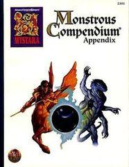 AD&D 2E - Mystara Monstrous Compendium Appendix 2501