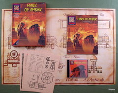 AD&D 2E - Mystara Mark of Amber - 2513 Boxed Set