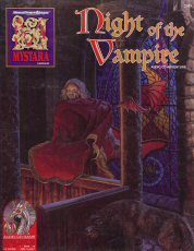 AD&D 2E - Mystara Night of the Vampire - 2509 Boxed Set