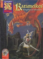 AD&D 2E - Mystara Karameikos Kingdom of Adventure - 2500 Boxed Set