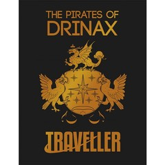 Traveller - The Pirates of Drinax - Slipcase