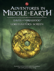 5e Adventures in Middle-Earth - Eaves of Mirkwood Loremaster's Screen