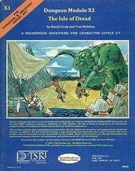 D&D - X1 - The Isle of Dread (1980 Version) - 9043