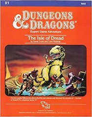 D&D - X1 - The Isle of Dread (1983 Version) - 9043