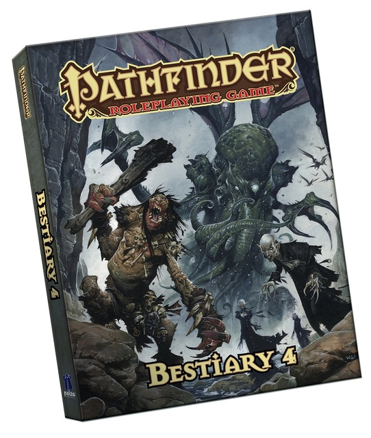 Pathfinder Roleplaying Game: Bestiary 4 Pocket Edition