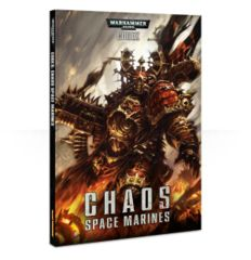 40k Codex: Chaos Space Marines Softcover (old)