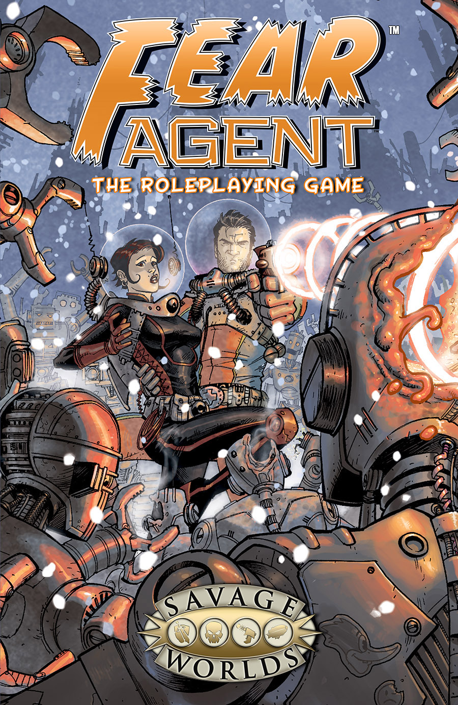 FEAR Agent - The Roleplaying Game - HC Limited Edition