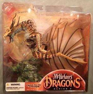 McFarlanes Dragons Fire Clan 3 Dragon Clan 3 Quest for Lost King NIB
