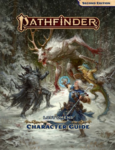 Pathfinder 2E - Lost Omens Character Guide 9302
