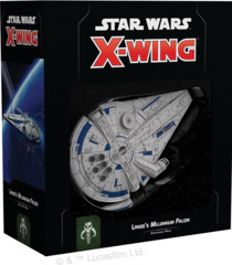 FFG SWZ04 - Star Wars X-Wing (2e) - Lando`s Millennium Falcon Expansion Pack