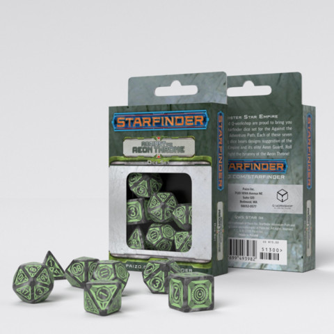 Starfinder - Against the Aeon Throne Dice Set