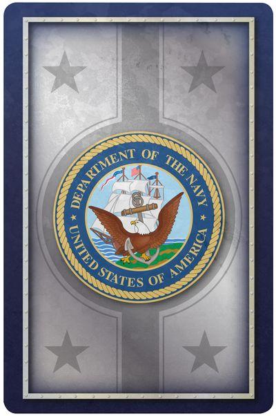 Navy Standard Index Playing Card Set