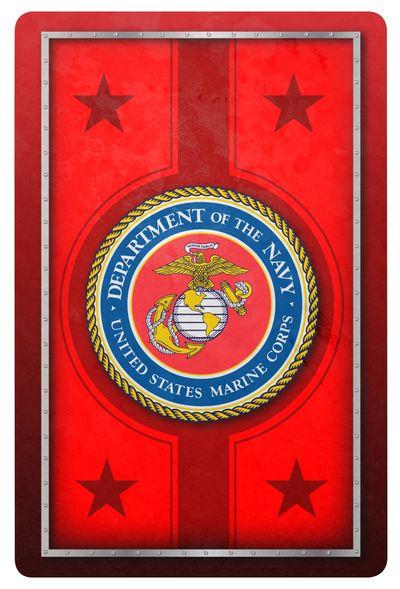 Marine Corps Standard Index Playing Card Set