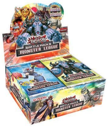 Yu-Gi-Oh! - Battle Pack 3: Monster League Booster Box