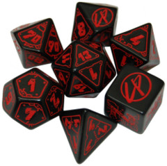 Cyberpunk Red - Dice Set